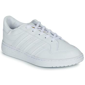 Cipők Gyerek Rövid szárú edzőcipők adidas Originals Novice C Fehér