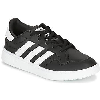 Cipők Gyerek Rövid szárú edzőcipők adidas Originals Novice C Fekete  / Fehér