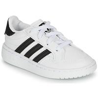 Cipők Gyerek Rövid szárú edzőcipők adidas Originals NOVICE EL I Fehér / Fekete