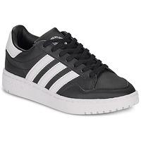 Cipők Gyerek Rövid szárú edzőcipők adidas Originals Novice J Fekete  / Fehér