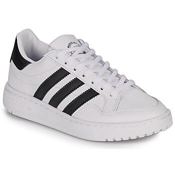 Cipők Gyerek Rövid szárú edzőcipők adidas Originals Novice J Fehér / Fekete