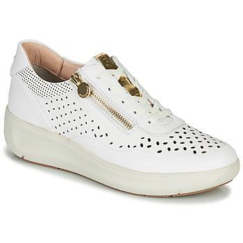 Cipők Női Rövid szárú edzőcipők Stonefly ROCK 10 Fehér