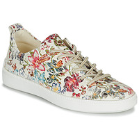 Cipők Női Rövid szárú edzőcipők Think TURNA Bézs / Piros / Zöld