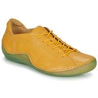 Cipők Női Rövid szárú edzőcipők Think KAPSL Citromsárga / Zöld