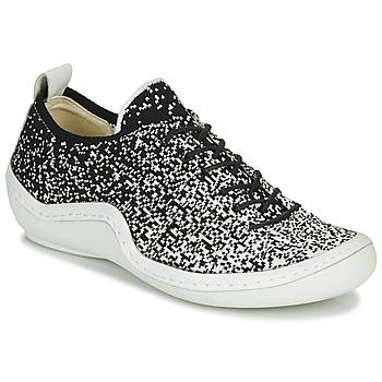 Cipők Női Rövid szárú edzőcipők Think KAPSL Fekete  / Fehér