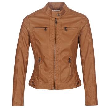 Ruhák Női Bőrkabátok / műbőr kabátok Moony Mood DUIR Teve