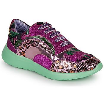 Cipők Női Rövid szárú edzőcipők Irregular Choice JIGSAW Lila