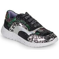 Cipők Női Rövid szárú edzőcipők Irregular Choice JIGSAW Fekete  / Ezüst