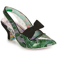 Cipők Női Félcipők Irregular Choice PARADOX Zöld / Fekete