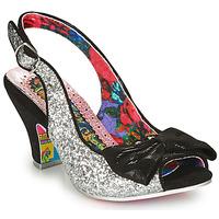 Cipők Női Félcipők Irregular Choice HIYA SYNTH Ezüst / Fekete