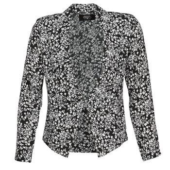 Ruhák Női Kabátok / Blézerek Le Temps des Cerises OPAL Fekete