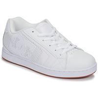 Cipők Férfi Rövid szárú edzőcipők DC Shoes NET Fehér