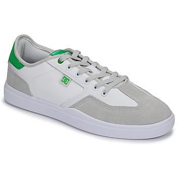 Cipők Férfi Rövid szárú edzőcipők DC Shoes VESTREY Fehér / Zöld