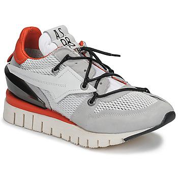 Cipők Női Rövid szárú edzőcipők Airstep / A.S.98 DENASTAR Fehér / Piros