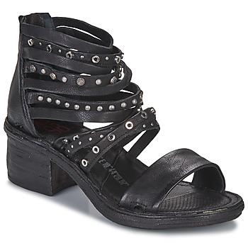 Cipők Női Szandálok / Saruk Airstep / A.S.98 KENYA Fekete