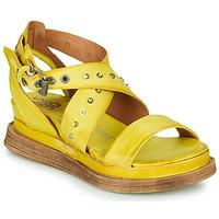 Cipők Női Szandálok / Saruk Airstep / A.S.98 LAGOS 2 Citromsárga