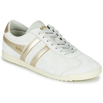 Cipők Női Rövid szárú edzőcipők Gola BULLET PEARL Fehér / Arany