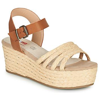 Cipők Női Szandálok / Saruk MTNG GARISSON Bézs