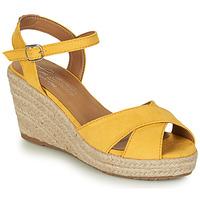 Cipők Női Szandálok / Saruk Tom Tailor 8090105 Citromsárga