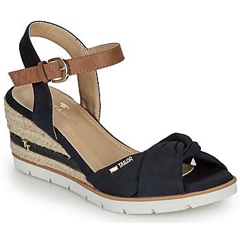 Cipők Női Szandálok / Saruk Tom Tailor 8090403 Tengerész