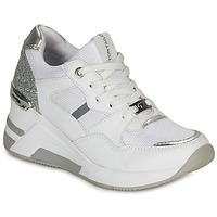 Cipők Női Rövid szárú edzőcipők Tom Tailor  Fehér / Ezüst