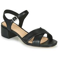 Cipők Női Szandálok / Saruk Clarks SHEER35 STRAP Fekete