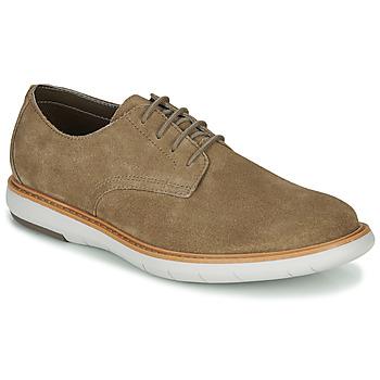 Cipők Férfi Oxford cipők Clarks DRAPER LACE Bézs