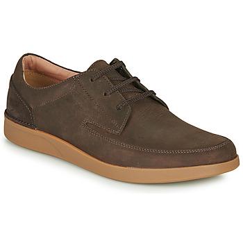 Cipők Férfi Oxford cipők Clarks OAKLAND CRAFT Barna