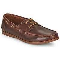 Cipők Férfi Oxford cipők Clarks PICKWELL SAIL Barna