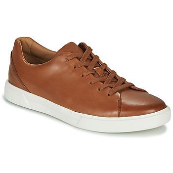 Cipők Férfi Oxford cipők Clarks UN COSTA LACE Cserszínű