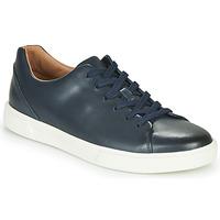 Cipők Férfi Rövid szárú edzőcipők Clarks UN COSTA LACE Tengerész
