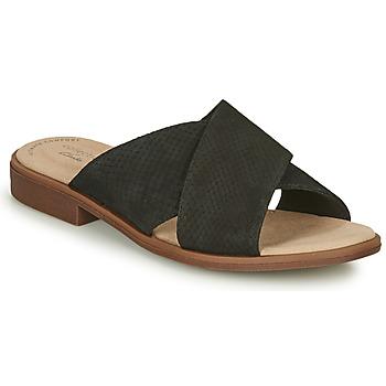 Cipők Női Papucsok Clarks DECLAN IVY Fekete