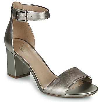 Cipők Női Szandálok / Saruk Clarks DEVA MAE Ezüst