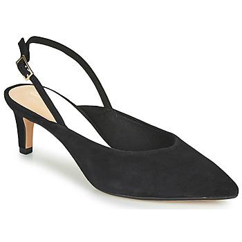 Cipők Női Félcipők Clarks LAINA55 SLING Fekete