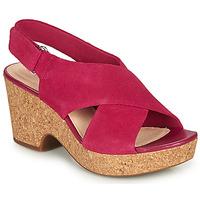 Cipők Női Szandálok / Saruk Clarks MARITSA LARA Rózsaszín