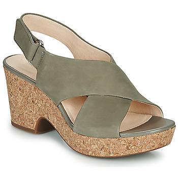 Cipők Női Szandálok / Saruk Clarks MARITSA LARA Tópszínű