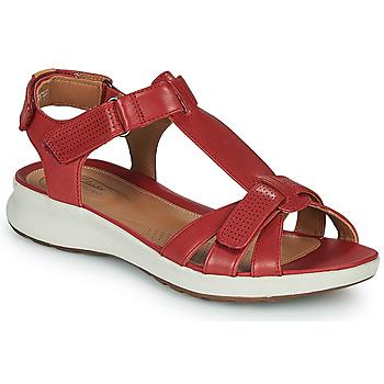 Cipők Női Szandálok / Saruk Clarks UN ADORN VIBE Piros
