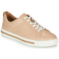 Cipők Női Rövid szárú edzőcipők Clarks UN MAUI LACE Rózsaszín
