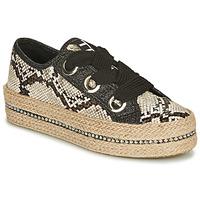 Cipők Női Gyékény talpú cipők Tosca Blu TAHITI Fekete  / Piton
