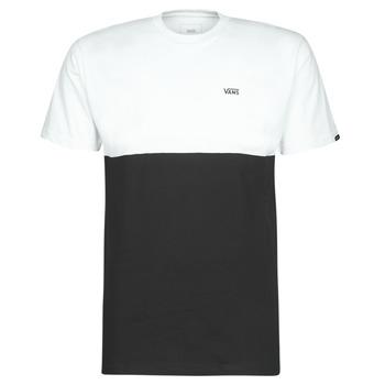 Ruhák Férfi Rövid ujjú pólók Vans COLORBLOCK TEE Fekete  / Fehér