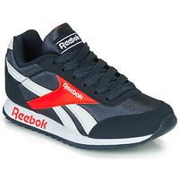 Cipők Fiú Rövid szárú edzőcipők Reebok Classic REEBOK ROYAL CLJOG Tengerész / Piros