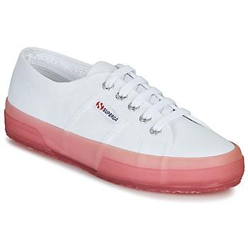 Cipők Női Rövid szárú edzőcipők Superga 2750-JELLYGUM COTU Fehér