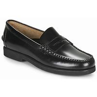 Cipők Férfi Mokkaszínek Sebago DAN POLARIS Fekete