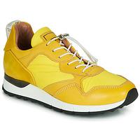 Cipők Női Rövid szárú edzőcipők Mjus CAST Citromsárga