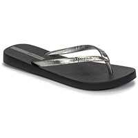 Cipők Női Lábujjközös papucsok Ipanema GLAM II Fekete  / Ezüst
