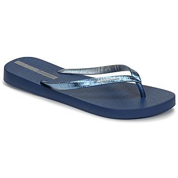 Cipők Női Lábujjközös papucsok Ipanema GLAM II Kék