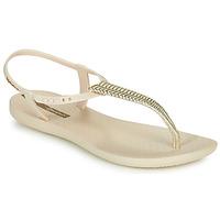 Cipők Női Szandálok / Saruk Ipanema CLASS GLAM III Bézs / Arany