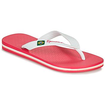 Cipők Lány Lábujjközös papucsok Ipanema CLAS BRASIL II Rózsaszín / Fehér