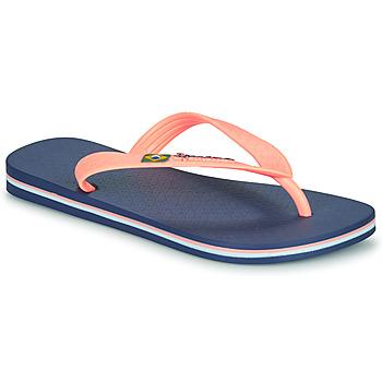 Cipők Lány Lábujjközös papucsok Ipanema CLAS BRASIL II Kék / Narancssárga
