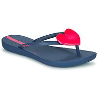 Cipők Lány Lábujjközös papucsok Ipanema MAXI FASHION Kék / Rózsaszín